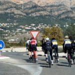 Syklister spisser formen på Costa Blanca